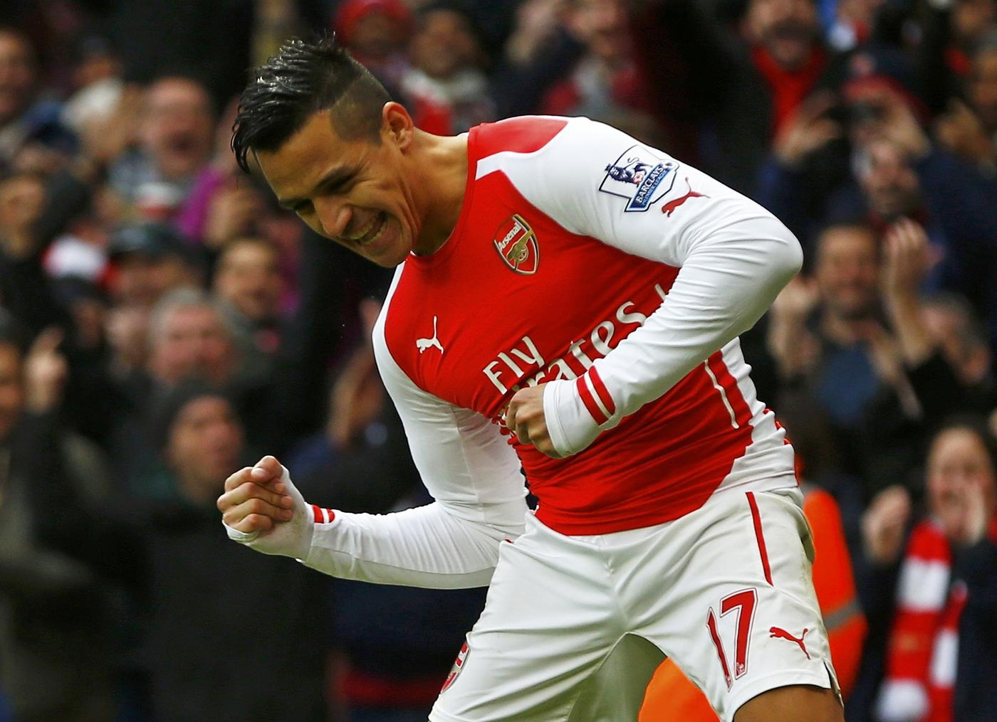 Alexis Sanchez demolishes Stoke, stats show just how ridiculously good he's been for Arsenal this season