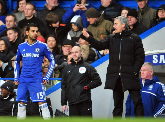 Jose Mourinho insists Mohamed Salah won't be leaving Chelsea this month
