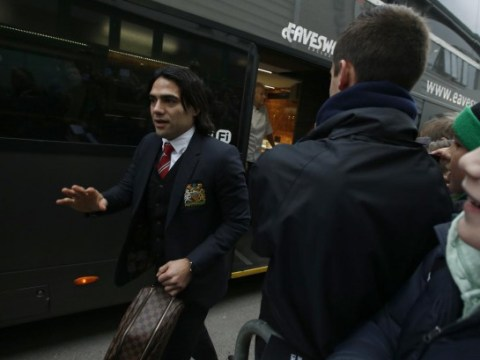 Radamel Falcao denies leaving Old Trafford before Southampton defeat