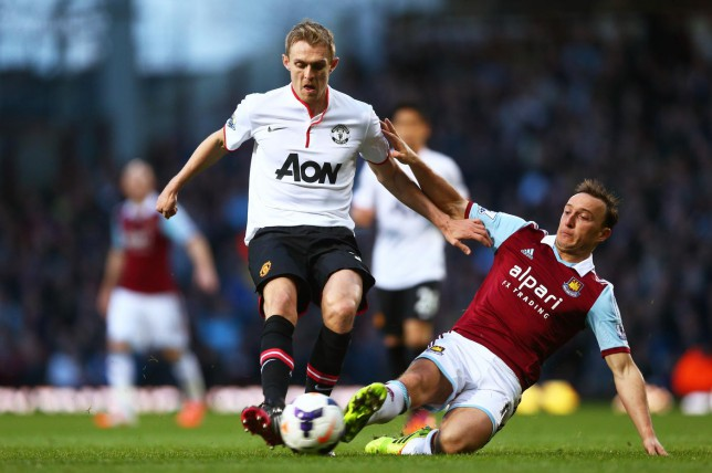 Darren Fletcher looks set to join West Ham