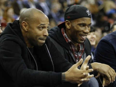 Chelsea striker Didier Drogba: Arsenal legend Thierry Henry is my idol