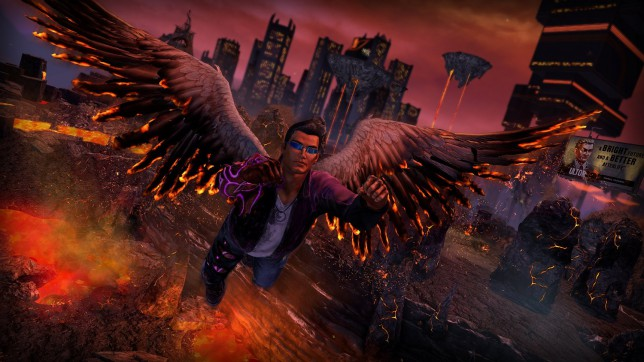 Saints Row IV: Re-Elected & Gat Out Of Hell (PS4) - a cut price Hell