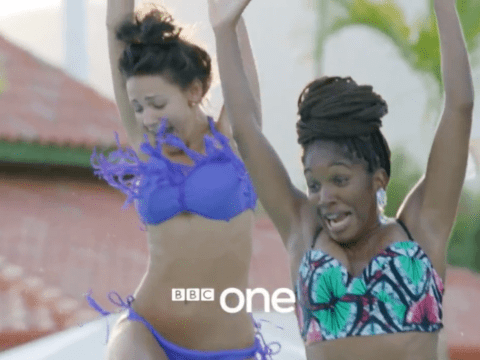 First glimpse of a bikini-clad Michelle Keegan in new BBC drama Ordinary Lies