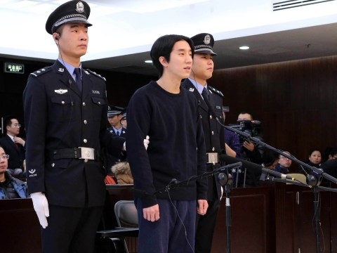 Jackie Chan's son is jailed for six months on drugs charges