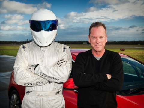 Jack Bauer meets The Stig as Kiefer Sutherland takes on Top Gear's Reasonably Priced Car challenge