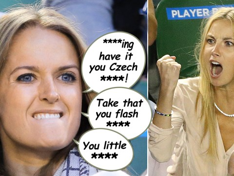 Kim Sears endures vile abuse after angry outburst during tennis match