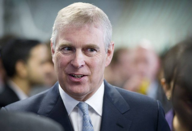 File photo 13/3/2013 the Duke of York as Buckingham Palace has denied the Duke of York has committed any impropriety after he was reportedly named in US court documents related to a convicted paedophile. PRESS ASSOCIATION Photo. Issue date: Friday January 2, 2015. A woman has alleged in papers filed in Florida that she was forced to have sex with Andrew when she was 17, which is under the age of consent in the state, according to the Guardian. See PA story ROYAL Andrew. Photo credit should read: Geoff Pugh/PA Wire