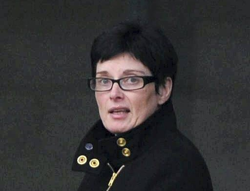 Trudy Collins outside Preston Crown Court. An heiress was stripped of her late father's inheritance by her own MOTHER who falsely promised to help keep the money safe, only to embark on a secret spending spree. Bride-to-be Denvar Bathie, 22, had been vowing to end her own spendthrift ways by using the part of the legacy to save up for a house and her forthcoming wedding, even banking an extra £200 every months from own wage but she found herself the unwitting victim on a callous string of thefts by mother Trudy Collins who had warned her: ''You'll spend it'' before persuading her daughter to hand over the bank card and pin number for ''safe keeping'' in her attic. Over a year long period, shameless Collins, 44, used the card to access Miss Bathie's account on 173 occasions and spent £20,000 pounds on holidays, shopping trips, hotel bills and visits to the cinema and hairdressers.  She was holidaying in Egypt using her daughter's money when the bank queried the high number of withdrawals and a stunned Miss Bathie confronted her about it.  At Preston Crown Court, Miss Bathie stormed out without comment as her mother, from the Walney area of Barrow-in-Furness, in Cumbria escaped jail having admitted theft, getting just a 12 month jail term suspended for two years and was ordered to complete 150 hours unpaid work and was given a three month monitored curfew between 10pm and 7am and pay a £100 victim surcharge.