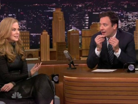 Awkward! Nicole Kidman reveals to Jimmy Fallon that he blew his chance to date her