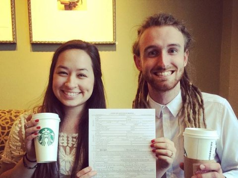 Would you have a #StarbucksWedding? Couples are doing that now