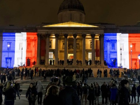 London lights up in tribute to Charlie Hebdo Paris massacre victims