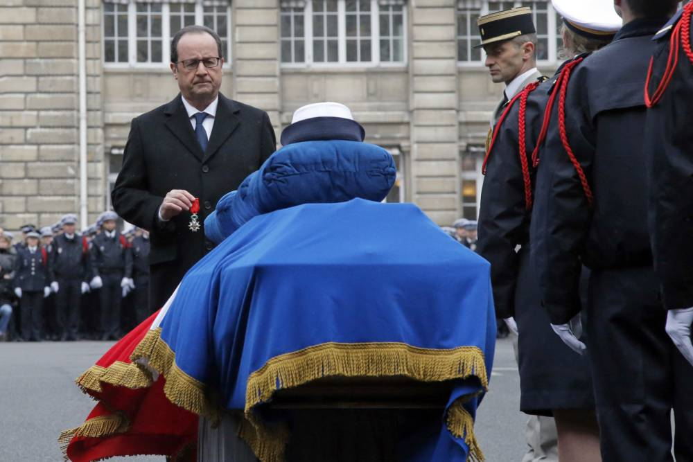 France pays tribute to three police officers killed in Paris terror attacks