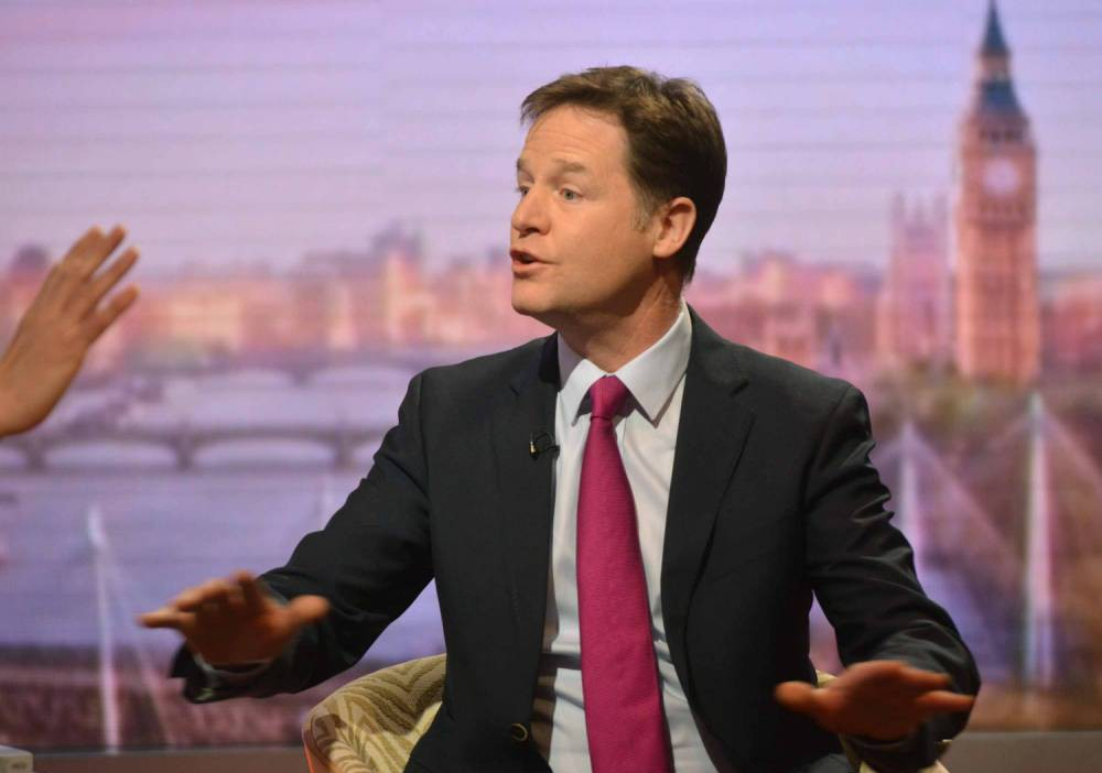 'Anyone but Nigel Farage': Nick Clegg opens door to Lib Dem coalition with any party – except Ukip