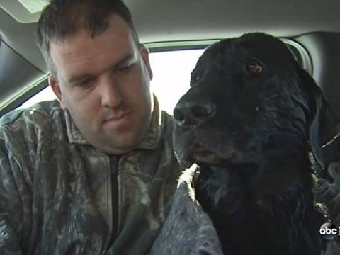 Hero dog rescues fellow canine from freezing to death