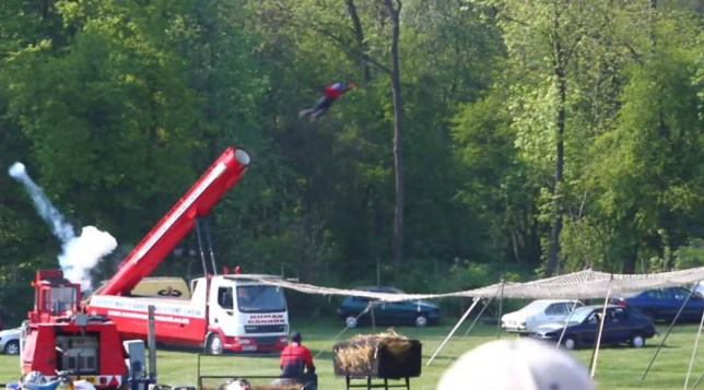 2011 video of the incident where stuntman Matt Cranch lost his life performing the Human Cannonball stunt.  grab by Metro https://www.youtube.com/watch?v=See_hFxPkG8