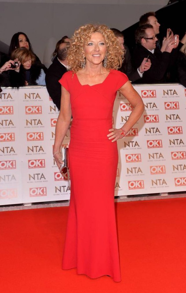 LONDON, ENGLAND - JANUARY 21:  Kelly Hoppen attends the National Television Awards at 02 Arena on January 21, 2015 in London, England.  (Photo by Anthony Harvey/Getty Images)