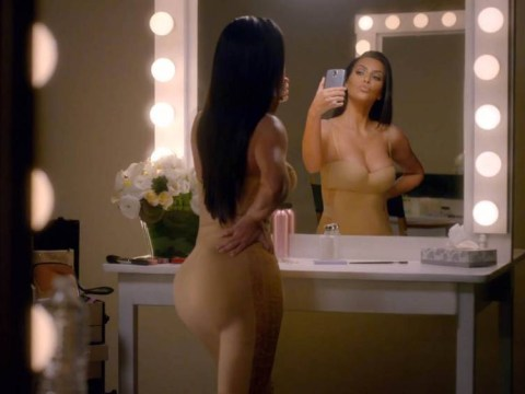 Kim Kardashian pokes fun at her unrelenting narcissism in new T-Mobile Super Bowl ad