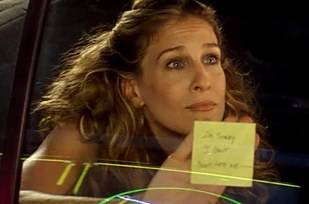 Sex And The City's Jack Berger re-creates post-it note break-up