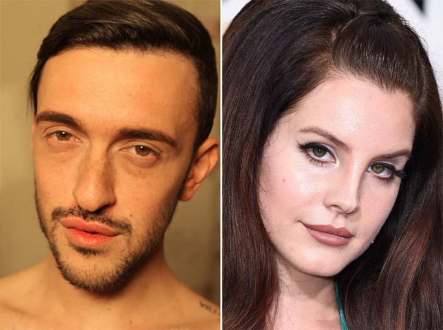 Bodyshockers: Nips, Tucks and Tattoos - Dean and Lana Del Rey (Picture: Channel 4/Wire Image)