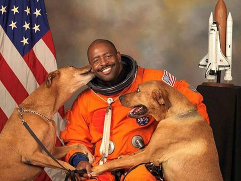 Is this the best astronaut portrait ever?