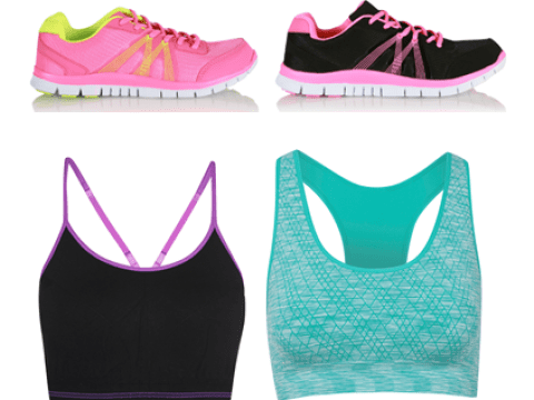 George at Asda launch a range of cheap as chips workout gear