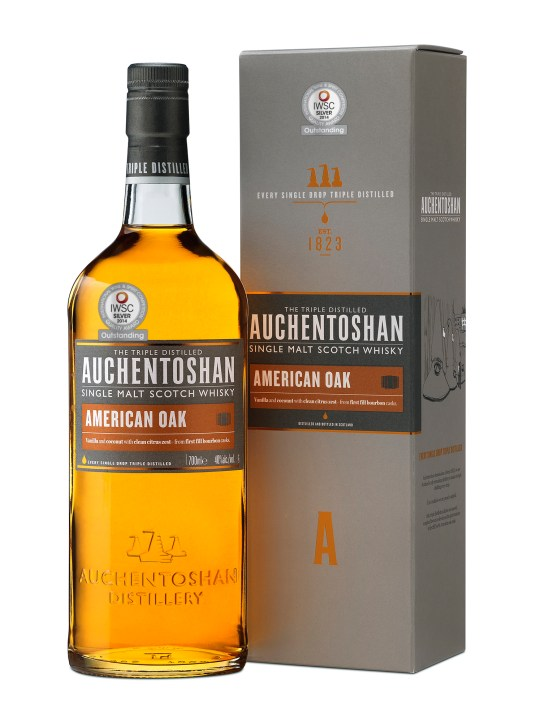Burns Night 2015, Auchentoshan American Oak, whisky