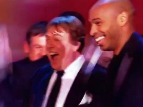 EastEnders star Ian Beale can't contain excitement after meeting Arsenal legend Thierry Henry