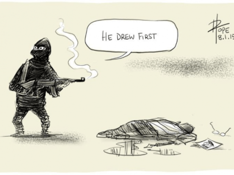 25 powerful cartoon reactions to the Charlie Hebdo shootings in Paris