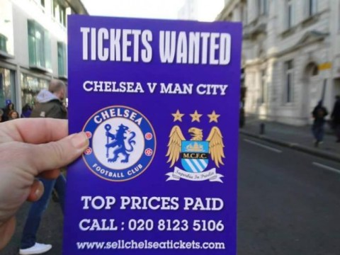 Ticket touts take tactics to new levels ahead of Chelsea v Manchester City
