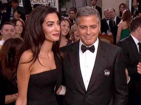 George Clooney declined to drink his own tequila on the red carpet at the Golden Globes