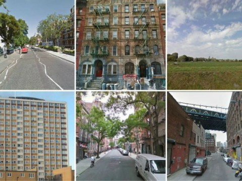 Guess the classic album covers from these Google Street View snaps