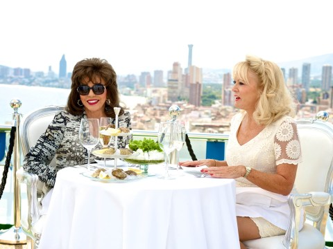 Joan Collins brings some glam back to Benidorm as Crystal Hennessy Vass