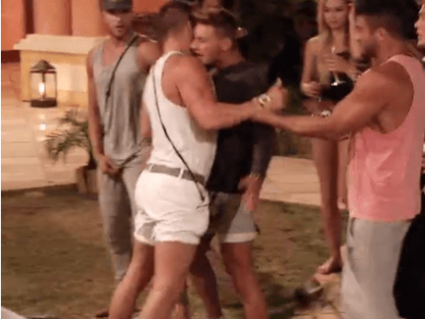 Ex On The Beach season 2: Connor Hunter and Morgan Evans scrap over Melissa Reeves