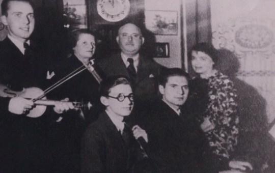 Freddie Knoller photographié avec sa famille avant la guerre