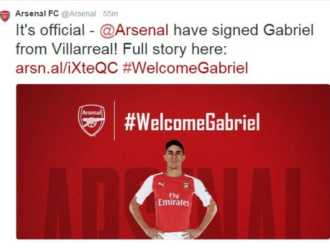 Gabriel Paulista talks up team mentality after completing Arsenal transfer