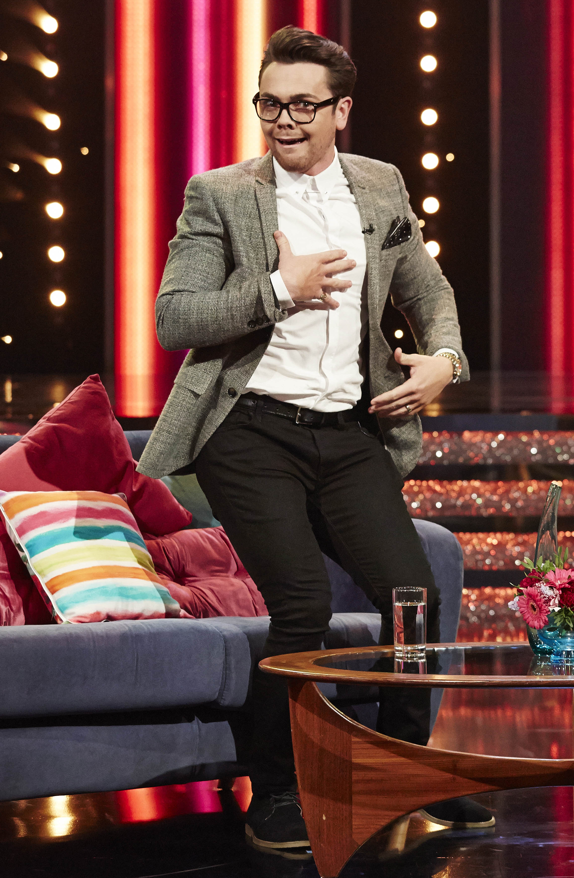 Jack-of-all-trades Ray Quinn goes through to Get Your Act Together live final despite being heckled on Twitter