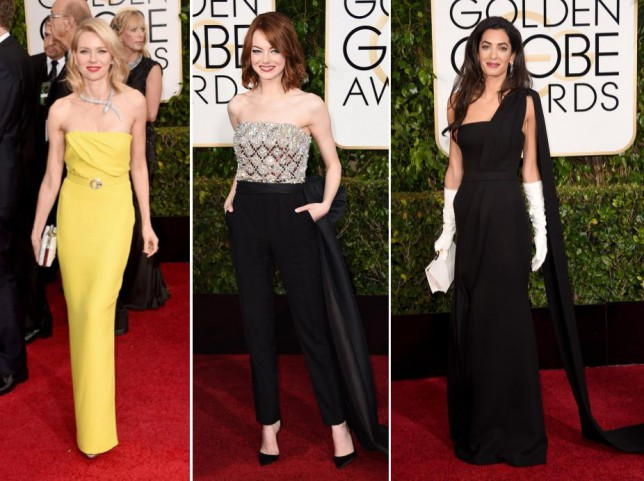 Golden Globes 2015 fashion: From Amal Clooney to Jennifer Aniston