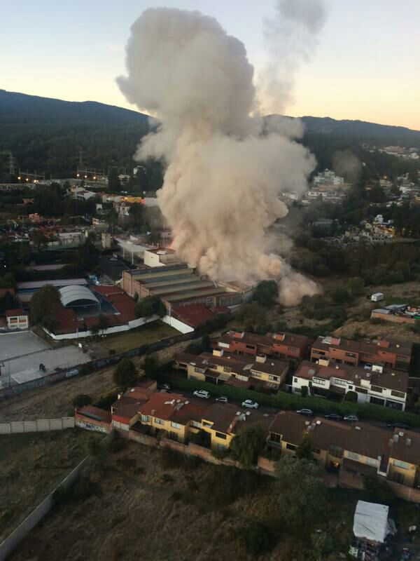 Two dead and dozens injured as gas explosion destroys children's hospital