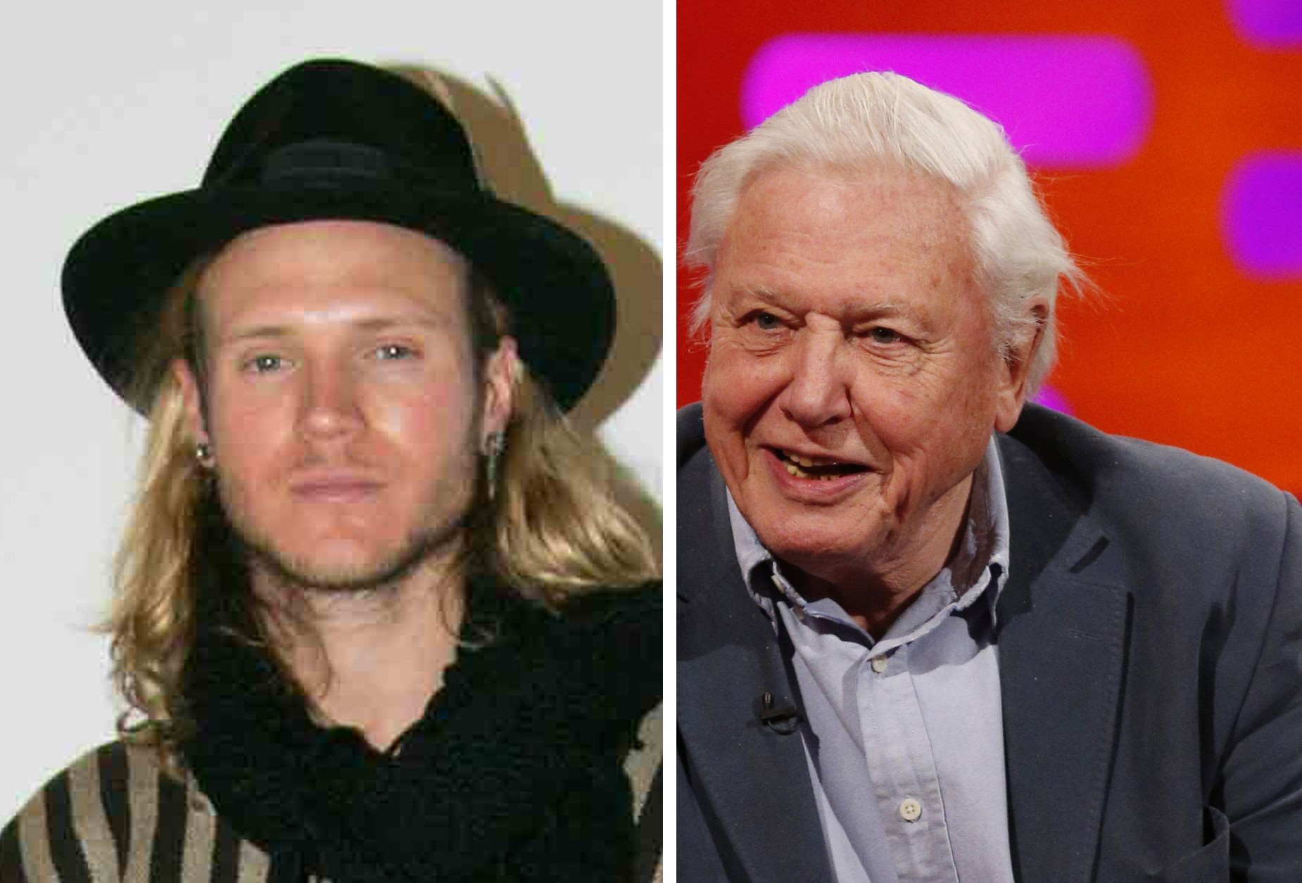 McBusted's Dougie Poynter outs himself as Sir David Attenborough's crazy stalker