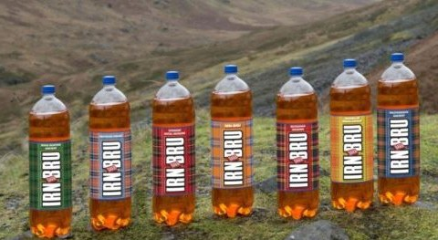 Hilarious mock-up reveals what happens to an Englishman one hour after drinking Irn Bru