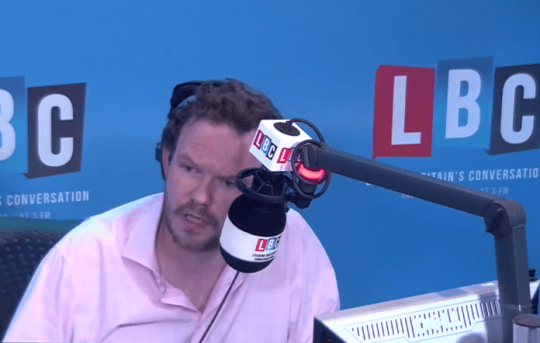 LBC's James O Brien (Picture: YouTube/LBC)