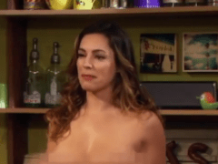 Kelly Brook gets completely NAKED in the trailer for new sit-com One Big Happy produced by Ellen DeGeneres
