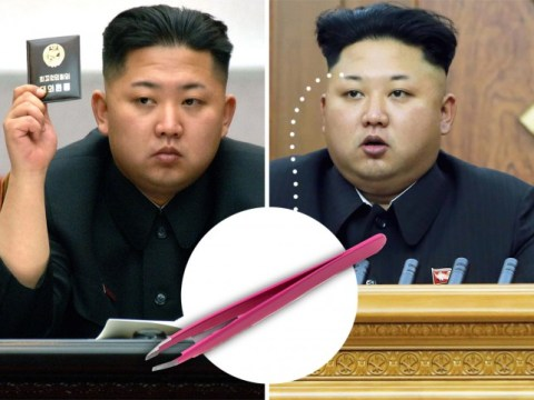Important: Kim Jong-un's eyebrows appear to have been hacked by over-enthusiastic tweezers
