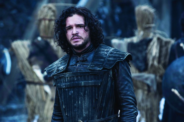 Television Programme: Game of Thrones with Kit Harington as Jon
