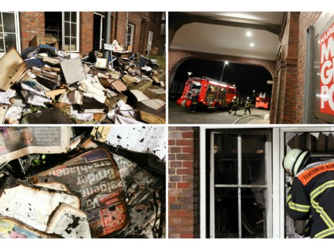 German newspaper firebombed after printing Charlie Hebdo cartoon