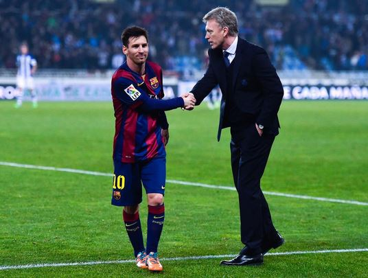 David Moyes becomes subject of comical Twitter memes after Real Sociedad beat Barcelona