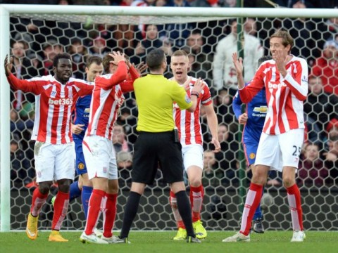 'Blind' Michael Oliver costs Stoke City AGAIN against Manchester United