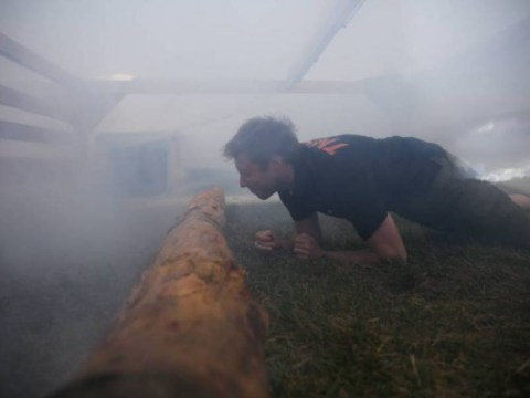 Enough to make you weep: Tough Mudder's 2015 course will include a tear gas obstacle