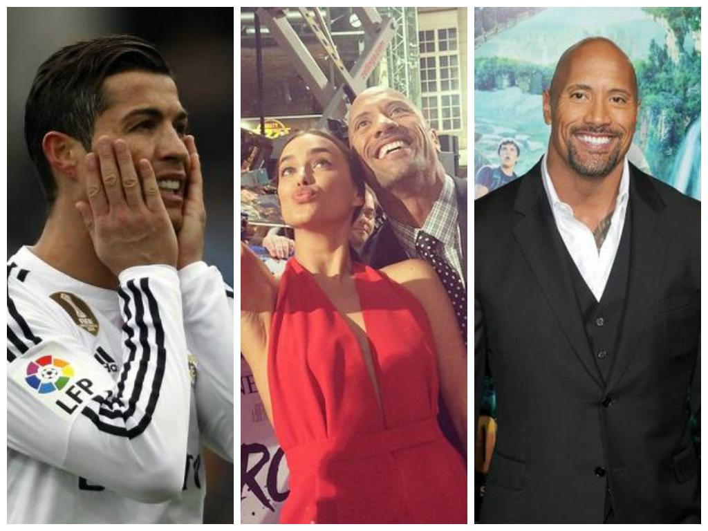Did Dwayne 'The Rock' Johnson break up Cristiano Ronaldo and Irina Shayk?