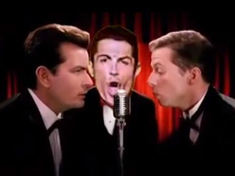 Cristiano Ronaldo does Two and a Half Men, Usher and Soldier Boy in Vine mash-ups of Ballon d'Or scream